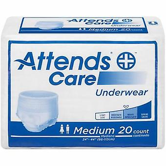 Attends Absorbent Underwear, White 18 Bags