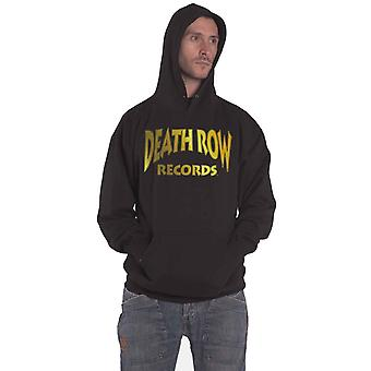 Death Row Records Hoodie 30th Logo new Official Mens Black Pullover