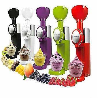 Ice Cream Maker Bpa Free Dishwasher Fruit Soft Serve Maker Make Delicious(Purlpe)