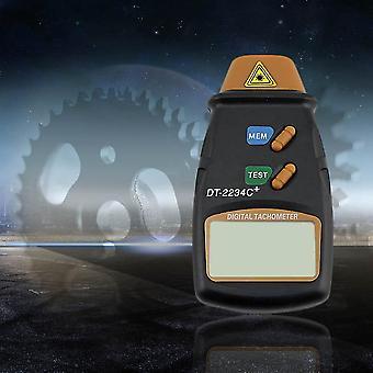 Digital Laser Foto Tachometer Ikke Kontakt Rpm Tach Speed Gauge Engine