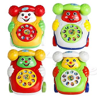 Baby Music Cartoon Phone Mobile Edukacyjne Zabawki dla dzieci