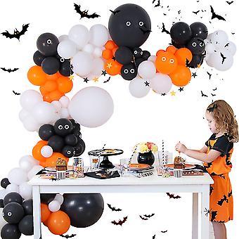 YANGFAN Halloween Ilmapallo Garland Arch Kit juhlakoristeluun