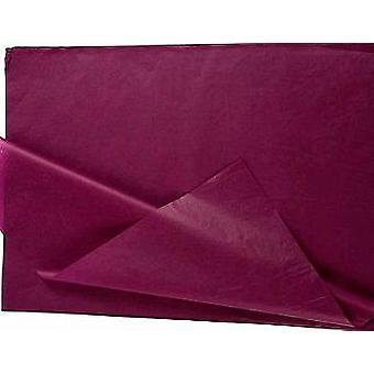 25 hela ark av viol lila inga veck mjukpapper   Gift Wrap Supplies