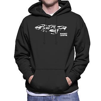 Rocket League Legacy Cars Herrhuvad Sweatshirt