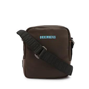 Bikkembergs - Bolsos - Bandoleras - E2BPME1Q0022025-Brown - Hombre - saddlebrown