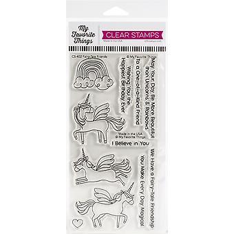 """Meine Lieblingsdinge Eindeutig sentimentale Briefmarken 4""""X8"""" - Fairy-Tale Friends"""