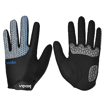 Homemiyn Long Finger Cycling Gloves Cycling Non-slip Wear-resistant Breathable Gloves Touch Screen,4 Sizes