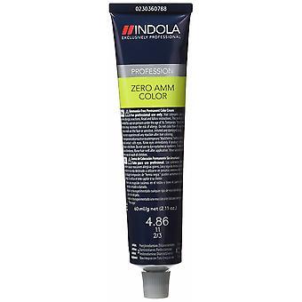 Permanent Dye Zero AMM Color Indola #4.86 (60 ml)