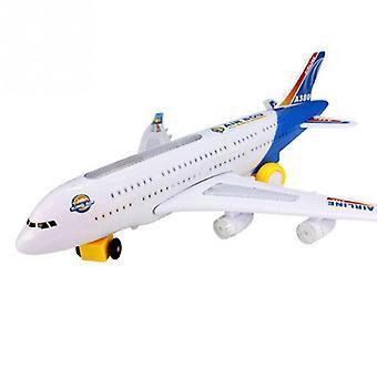 Elektrische vliegtuig kind speelgoed muzikale speelgoed bewegende geschenken| RC Vliegtuigen