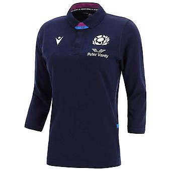 2021-2022 Ecosse LS Home Cotton Rugby Shirt (Femmes)