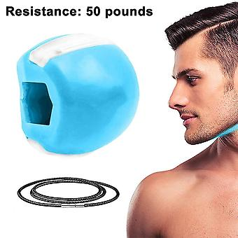 30 Lbs Jaw Exerciser, Face And Neck Exerciser-blue