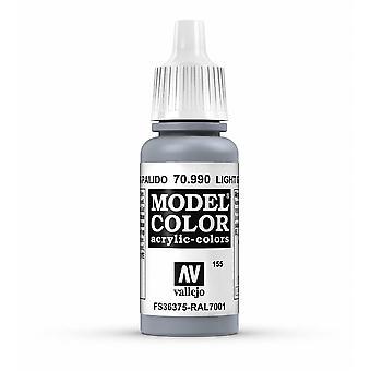 Vallejo Model Color 17ml Acrylic Paint - 990 Light Grey
