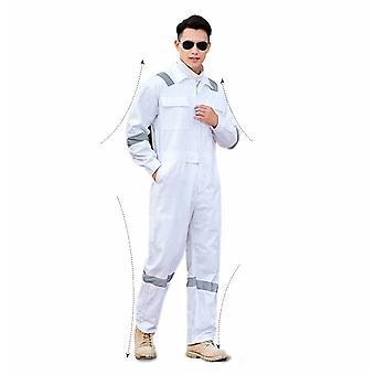 Mænds beskyttelsesbeklædning til havearbejde (hvid Xl)
