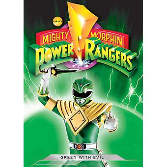 Mektige Morphin Power Rangers: Green onde [DVD] USA import