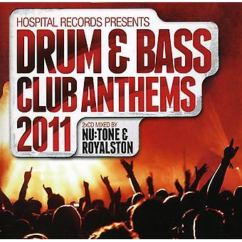 Hospital Records Drum & Bass Club Anthems 2011 - Hospital Records Drum & Bass Club Anthems 2011 [CD] USA import