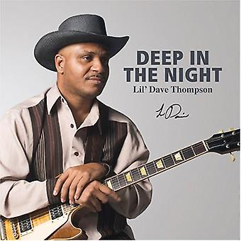 Lil' Dave Thompson - Deep in the Night [CD] USA import