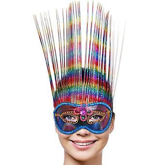 Máscara de olho do arco-íris máscara Venezia Rainbow Eyemask
