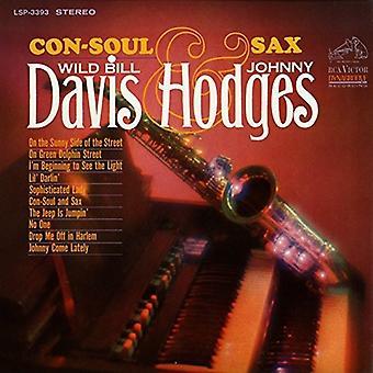 Davis, Bill / Hodges, Johnny - Con-Soul & Sax [CD] USA import