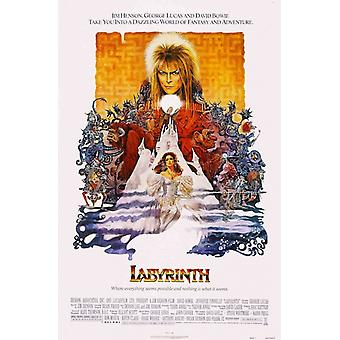 Labyrinth Movie David Bowie Poster Poster Print