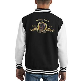 Monkey Island Metro Goldwyn Mayer Lion Kid's Varsity Jacket