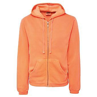 Comfort Colors Womens/Ladies Zipped Hooded Sweatshirt