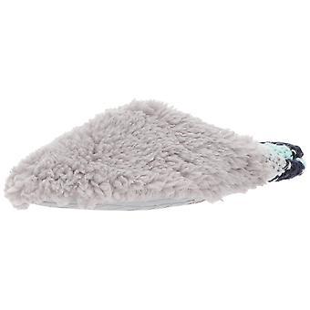 Dearfoams Women's Pile Scuff w Sweater Knit Heel