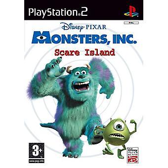 Disneys Monsters Inc. Scare Island (PS2) - Neu