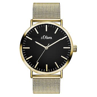 s.Oliver women's watch wristwatch stainless steel SO-3326-MQ