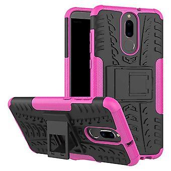 Caso híbrido 2 peça SWL rosa ao ar livre para a proteção de cobertura do Huawei companheiro 10 Pocket Lite manga