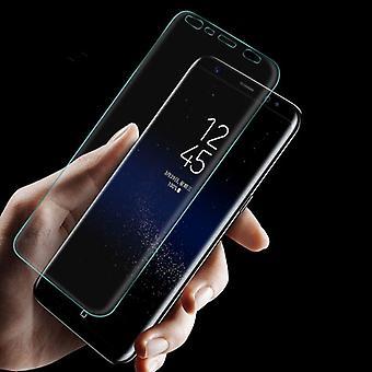 Filme de slide de tanque híbrido TPU premium curvada para touch Samsung Galaxy 9 N960F
