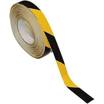 B-SAFETY AR206025-GS Universal anti-slip coating Amarelo, Preto (L x W) 18,3 m x 25 mm