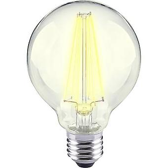 Sygonix LED (monochrome) EEC A++ (A++ - E) E27 Globe 12 W = 98 W Warm white (Ø x L) 80 mm x 115 mm Filament 1 pc(s)