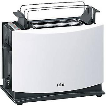 Braun HT450 Toaster with home baking attachment White, Black
