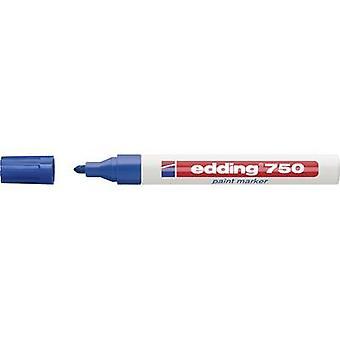 Edding 4-750003 edding 750 paint marker Paint marker Blue 2 mm, 4 mm 1 pcs/pack