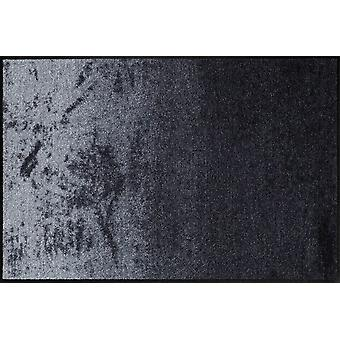 Shabby Grey washable floor mat Salon lion