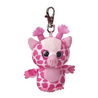 Topsee Eläköön muhkea vaaleanpunainen kirahvi Clip On Aurora - 29063