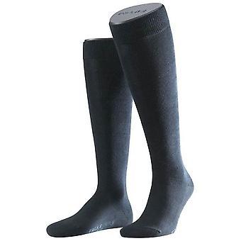 Falke Family Socken Knie hoch - dunkelblau