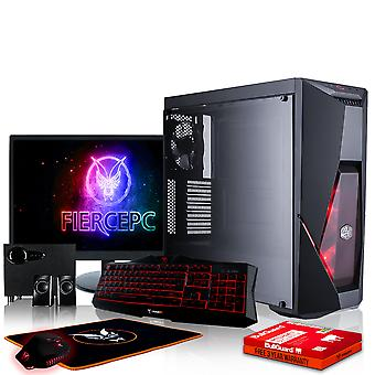 PC de Gaming PYTHON feroz, rápido Intel Core i5 8600 K 4.5 GHz, 240 GB SSD, 2TB HDD, 16 GB de RAM, RTX 2070 8GB