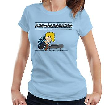 Peanuts Schroeder At The Piano Women's T-Shirt