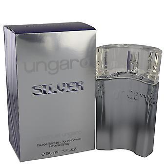 Emanuel Ungaro Ungaro Silver Eau de Toilette 90ml Spray
