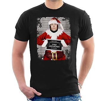 Kerst Mugshot Liam Gallagher mannen T-Shirt