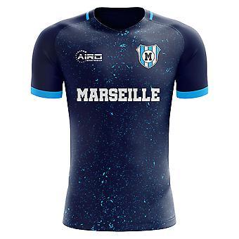 2020-2021 Marsylia Trzecia Koncepcja Koszulka piłkarska