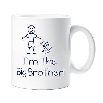 Cat I'm The Big Brother 10oz Mug