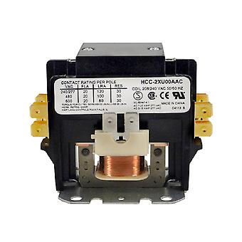 Allied Innovations 45CG20AGB 30Amp 240Vac Contactor Double Pole DPST Relay
