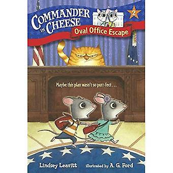 Comandante no queijo #2: Oval Office Escape (pisando pedra livros) (um pisando pedra livro)