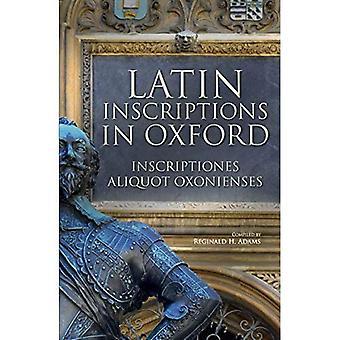 Inscriptions latines à Oxford