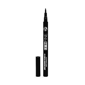 W7 Extra Fine Waterproof Eyeliner ~ Black