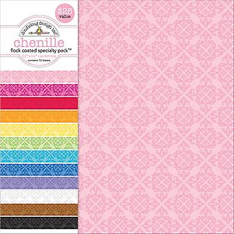 Doodlebug Single-Sided Specialty Cardstock Pack 12