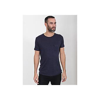 Sseinse Knitted Pocket T-shirt