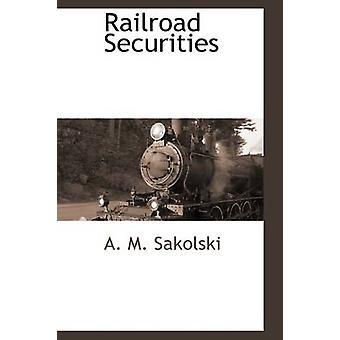 Jernbanen verdipapirer ved Sakolski & A. M.